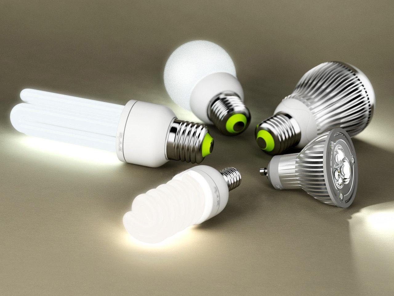 уровень света зависит от лампочки